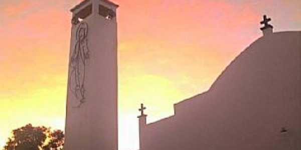 Redenção do Gurguéia-PI-Matriz do Senhor Bom Jesus da Lapa-Foto:Michael Fernandes-Facebook