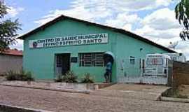 Ribeira do Piauí - Centro de Saúde Municipal Divino Espírito Santo em Ribeira do Piauí-PI-Foto:Antonio Borges Leal Filho