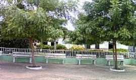 Ribeira do Piauí - Praça Cel.José Borges em Ribeira do Piauí-PI-Foto:Antonio Borges Leal Filho