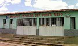 Ribeira do Piauí - U.E.Dep.Costa Neto em Ribeira do Piauí-PI-Foto:Antonio Borges Leal Filho