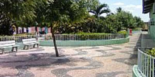 Praça Cel.José Borges em Ribeira do Piauí-PI-Foto:Antonio Borges Leal Filho
