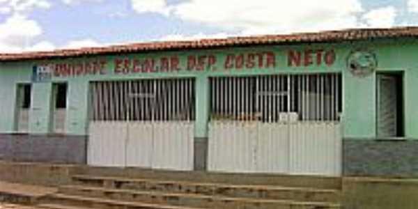 U.E.Dep.Costa Neto em Ribeira do Piauí-PI-Foto:Antonio Borges Leal Filho