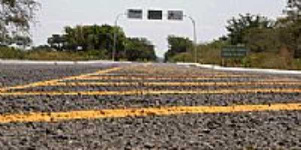 Nova estrada em Santa Cruz do Piauí-Foto:Francisco Gilásio
