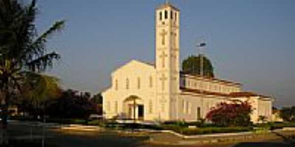 Igreja em Santa Luz-Foto:Antonio João Botrel
