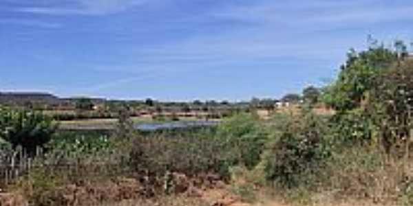 Lagoa em São Braz do Piauí-Foto:Ilziane Virgínia