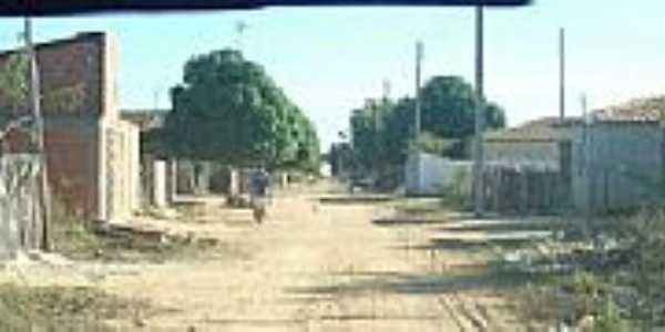 São Braz do Piauí-PI-Rua da cidade-Foto:brasil.wikimapas.net