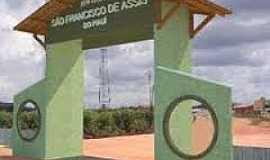 São Francisco de Assis do Piauí - São Francisco de Assis do Piauí-PI-Pórtico de entrada-Foto:180graus.com