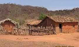 São Gonçalo do Gurguéia - Casas de Taipa em São Gonçalo do Gurguéia-Foto:Walter Wagner DF