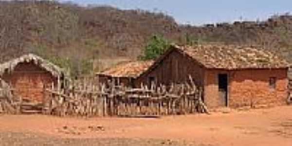 Casas de Taipa em São Gonçalo do Gurguéia-Foto:Walter Wagner DF
