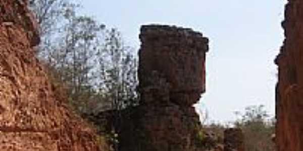 Pedra do Macaco em São Gonçalo do Gurguéia-Foto:Walter Wagner DF