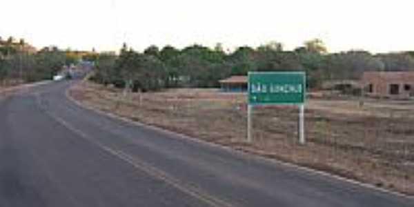 Rodovia em São Gonçalo do Gurguéia-Foto:Walter Wagner DF