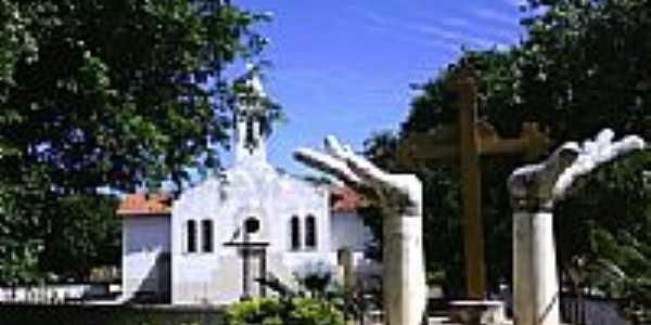 Igreja Matriz de São Gonçalo do Piauí-Foto:João Ananias