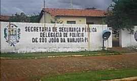 São João da Varjota - Delegacia-Foto:EDSON REGO