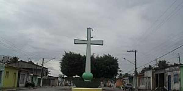 Campo Alegre-AL-Praça da Cruz-Foto:Sergio Falcetti