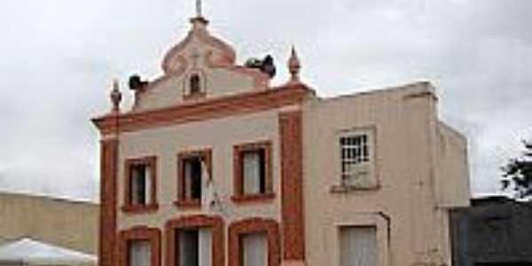 Matriz do Senhor Bom Jesus dos Aflitos em Campo Alegre-Foto:Vicente A. Queiroz