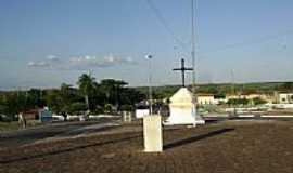 São João do Piauí - Cruzeiro na Praça da Matriz em São João do Piauí-PI-Foto:Cabral Lopes