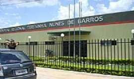 São João do Piauí - Hospital Regional Terezinha Nunes de Barros-Foto:tico.mix
