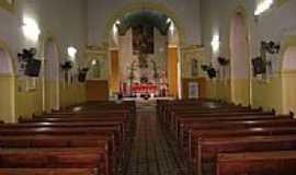 São João do Piauí - Interior da Igreja Matriz de São João Batista em São João do Piauí-PI-Foto:Cabral Lopes