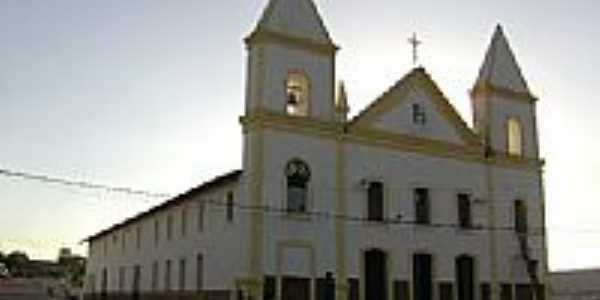 Igreja Matriz de São João Batista em São João do Piauí-PI-Foto:Cabral Lopes