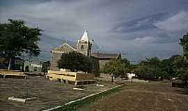 São José do Divino - Praça e Igreja em São José do Divino-Foto:ANANIAS