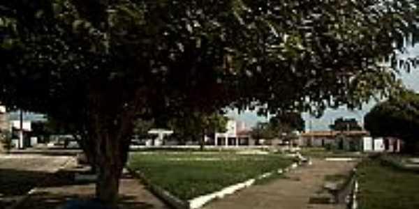 Praça em São José do Divino-Foto:ANANIAS