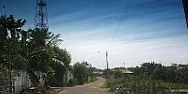 Rua da cidade de São José do Divino-Foto:ANANIAS