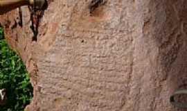S�o Jos� do Piau� - Inscri��es rupestre na caverna-Foto:pedro.deolino