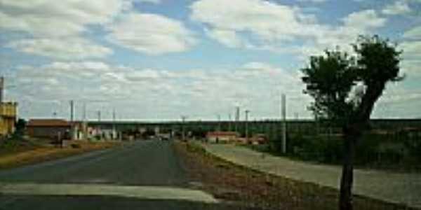 Entrada da Cidade de São Lourenço - Piauí por lua 16sp