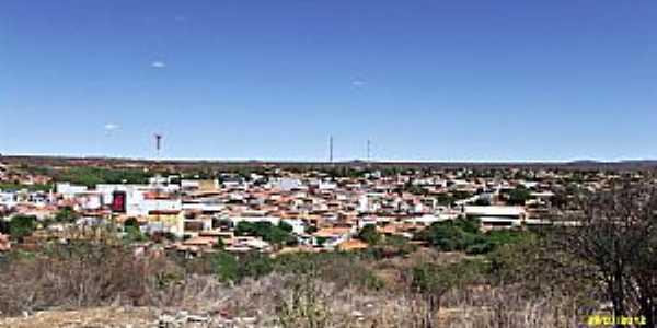 S�o Raimundo Nonato-PI-Vista da cidade-Foto:WLuiz