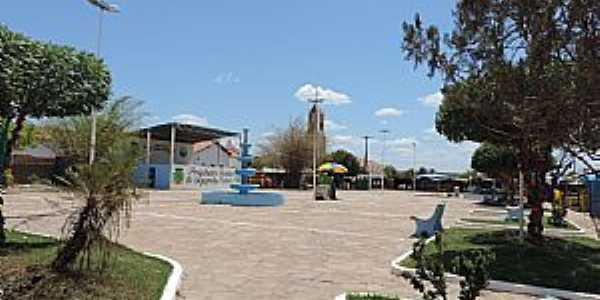 Sigefredo Pacheco-PI-Praça central-Foto:consolidesuamarca.com.br