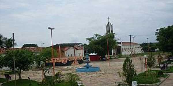 Sigefredo Pacheco-PI-Praça central-Foto:portallider.com