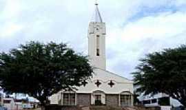 Simplício Mendes - Igreja Matriz Sagrado Coração de Jesus foto por Vicente A. Queiroz