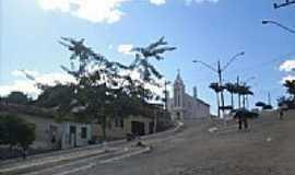 Encruzilhada - Praça e Igreja N.Sra.de Lourdes em Encruzilhada-BA-Foto:leandro lima
