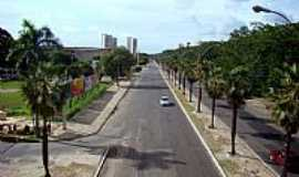 Teresina - Avenida central em Teresina-PI-Foto:Edilson Morais Brito�