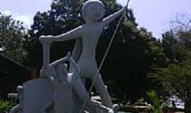 Teresina - Monumento Cabe�a de Cuia no centro de Teresina-Foto:Jo�o Ananias