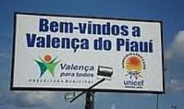 Valen�a do Piau� - Entrada da cidade-Foto:valencadopiaui