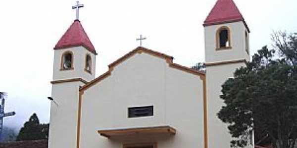 Adrianópolis-PR-Matriz de N.Sra.do Perpétuo Socorro-Foto:Vicente A. Queiroz