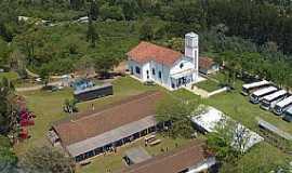 Água Azul - Água Azul-PR-Vista aérea da Igreja N.Sra.Aparecida-Foto:www.facebook.