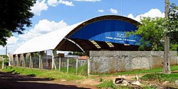 Água Boa-PR-Ginásio do Colégio Estadual José de Anchieta-Foto:Ricardo Mercadante