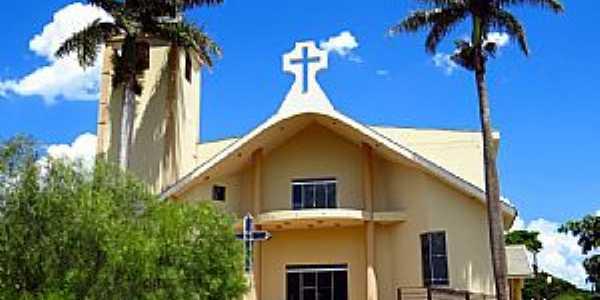 Água Boa-PR-Igreja Matriz-Foto:Ricardo Mercadante