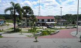 Agudos do Sul - Agudos do Sul-PR-Praça da Matriz-Foto:geografiatecnologia.