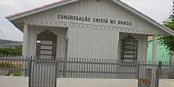 Igreja da Congregação Cristã do Brasil em Almirante Tamandaré-Foto:Congregação Cristã.NET