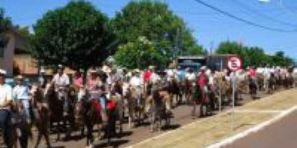 Cavalgada, Aprox. 800 Cavalos, Por Diogenes Francis Klein