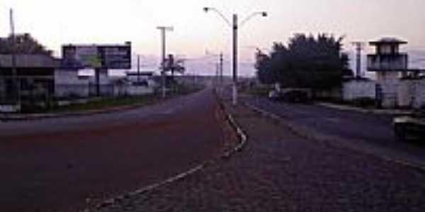 Rodovia BA 400 em Entre Rios-Foto:Genilson da Silva So�