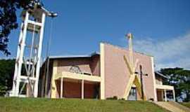 Alto Alegre do Iguaçu - Igreja N. Sra. Salete por Gil Sikora