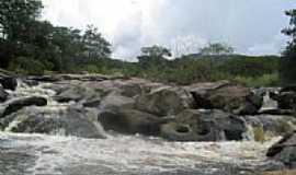 Érico Cardoso - Cachoeira Balaios em Érico Cardoso-BA-Foto:Helivelto Lima