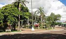 Altônia - Praça Carlos Gomes em Altônia-Foto:fernando novak