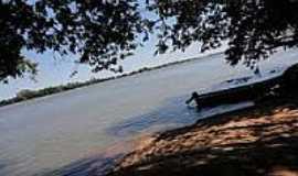 Altônia - Rio Paraná em Altônia-Foto:fernando novak