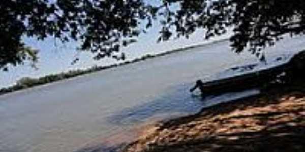 Rio Paran� em Alt�nia-Foto:fernando novak