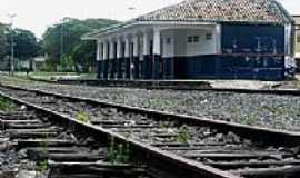 Esplanada - Antiga Estação Ferroviária de Esplanada-Foto:Sá da Hora